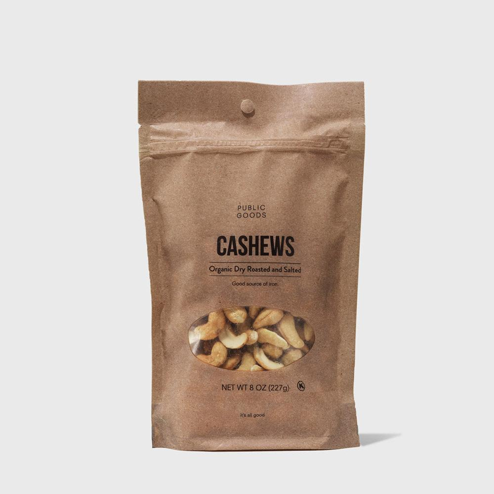 Public Goods Grocery Roasted Salted Cashews