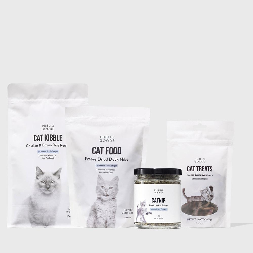 Public Goods Product Set Cat Bundle