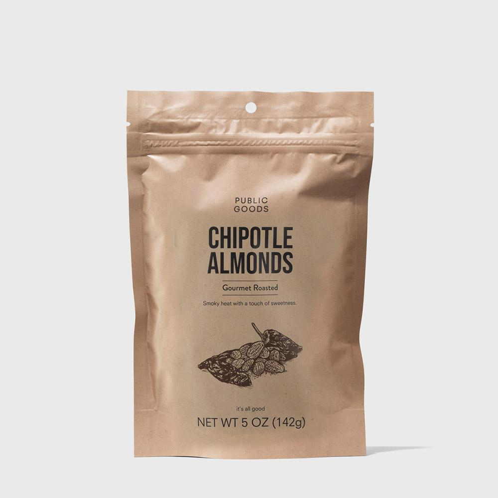 Public Goods Grocery Chipotle Almonds