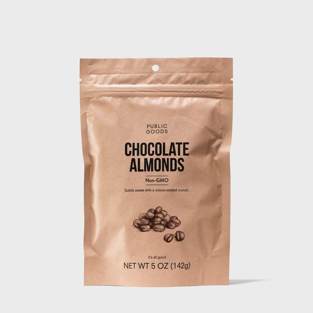 bag of chocolate covered almonds
