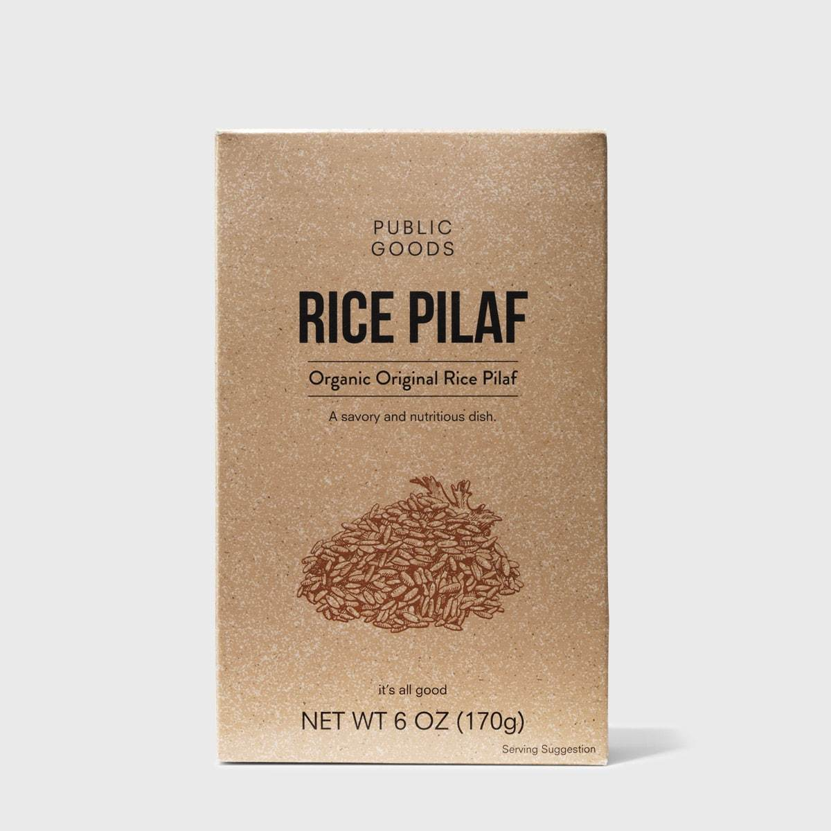 Public Goods Grocery Rice Pilaf
