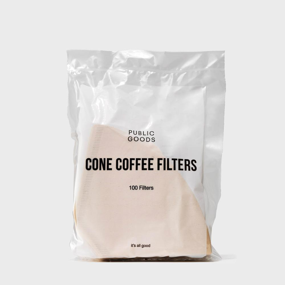 bag of public goods cone coffee filters