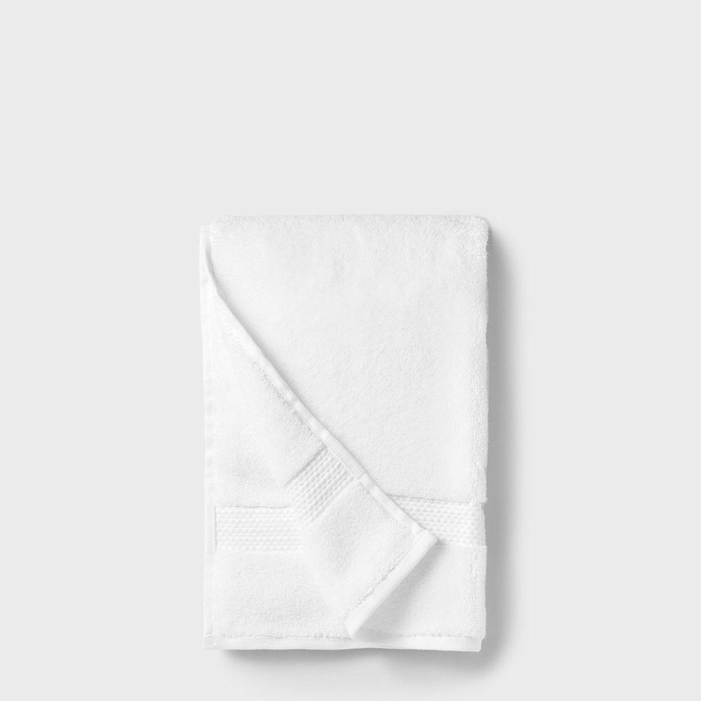 folded cotton hand towel