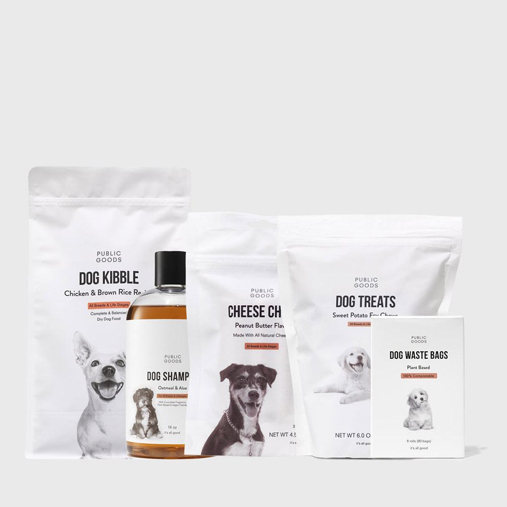Public Goods Product Set Dog Bundle