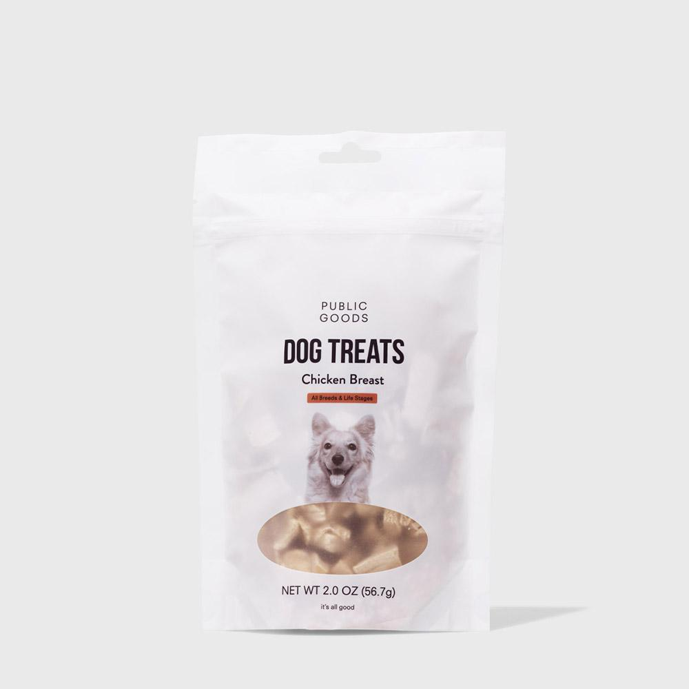 Public Goods Pet Dog Treats - Freeze Dried Chicken