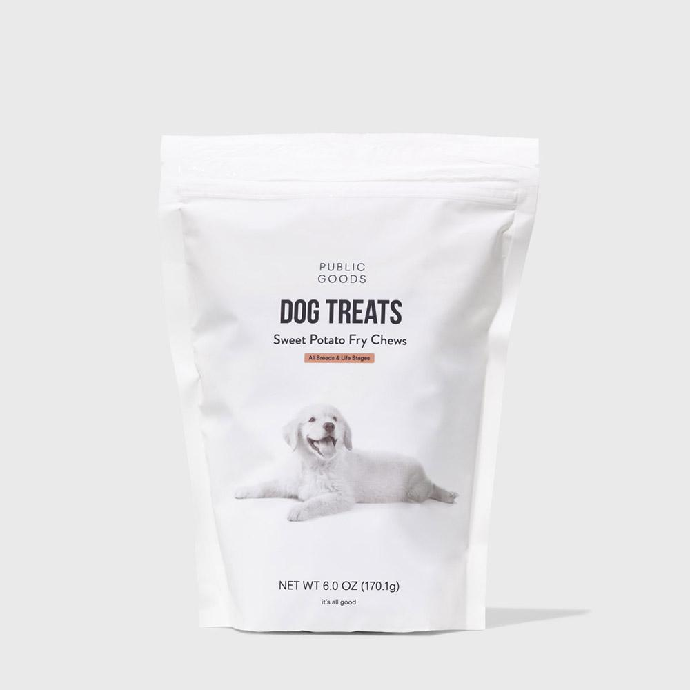 Public Goods Pet Dog Treats - Sweet Potato Fry Chews