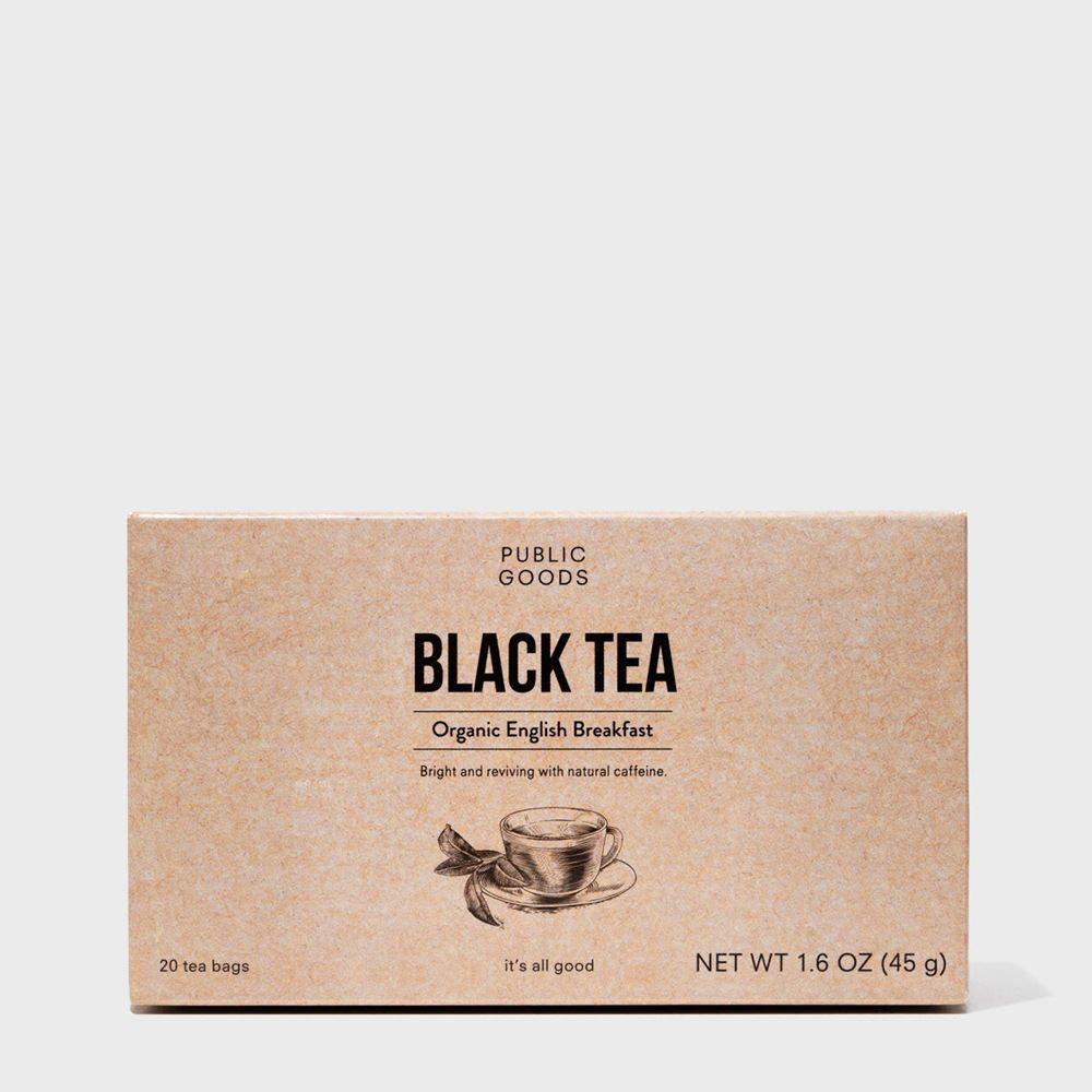 Public Goods Grocery English Breakfast Tea