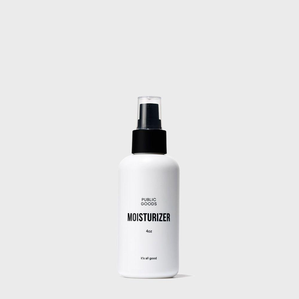 bottle of facial moisturizer