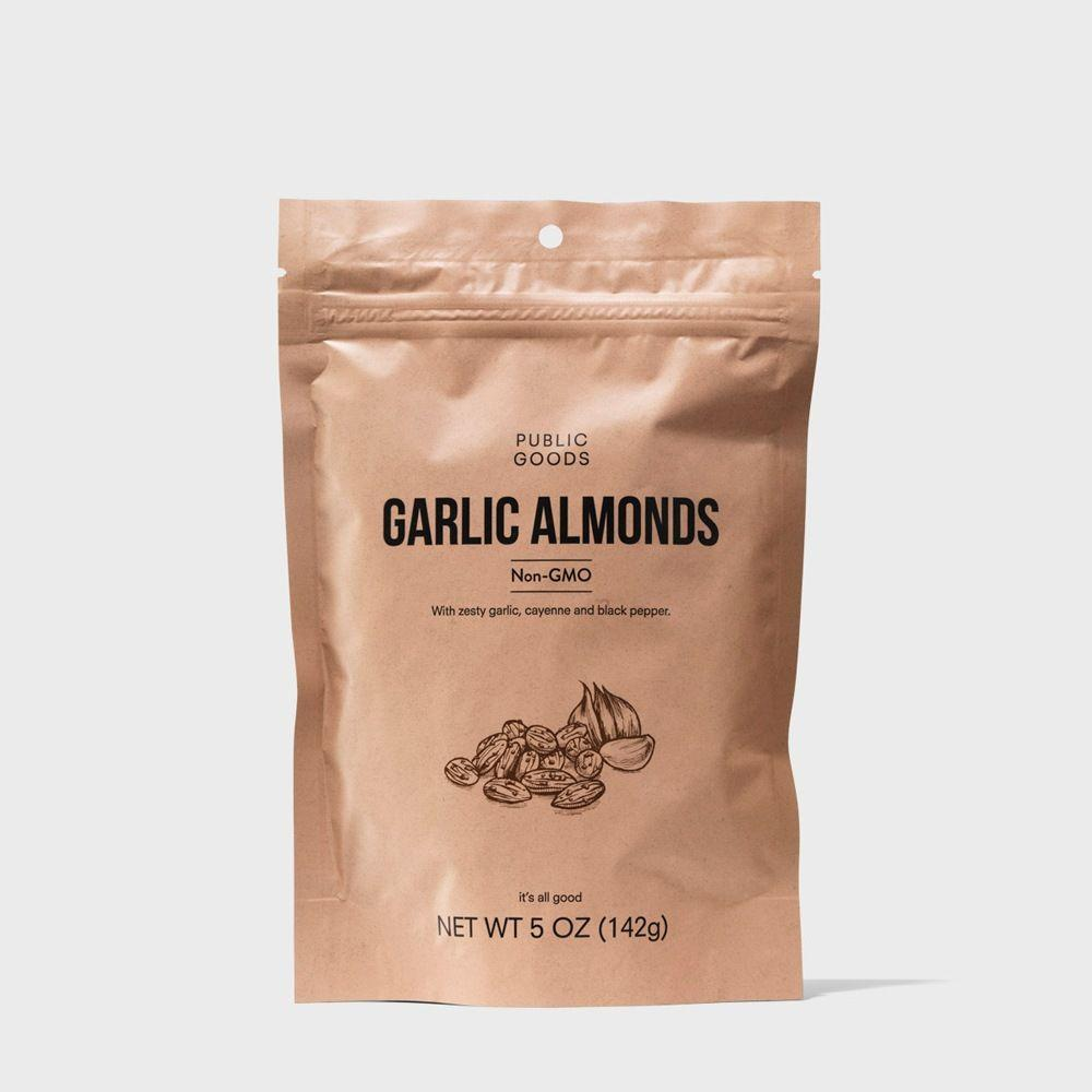 bag of garlic almonds
