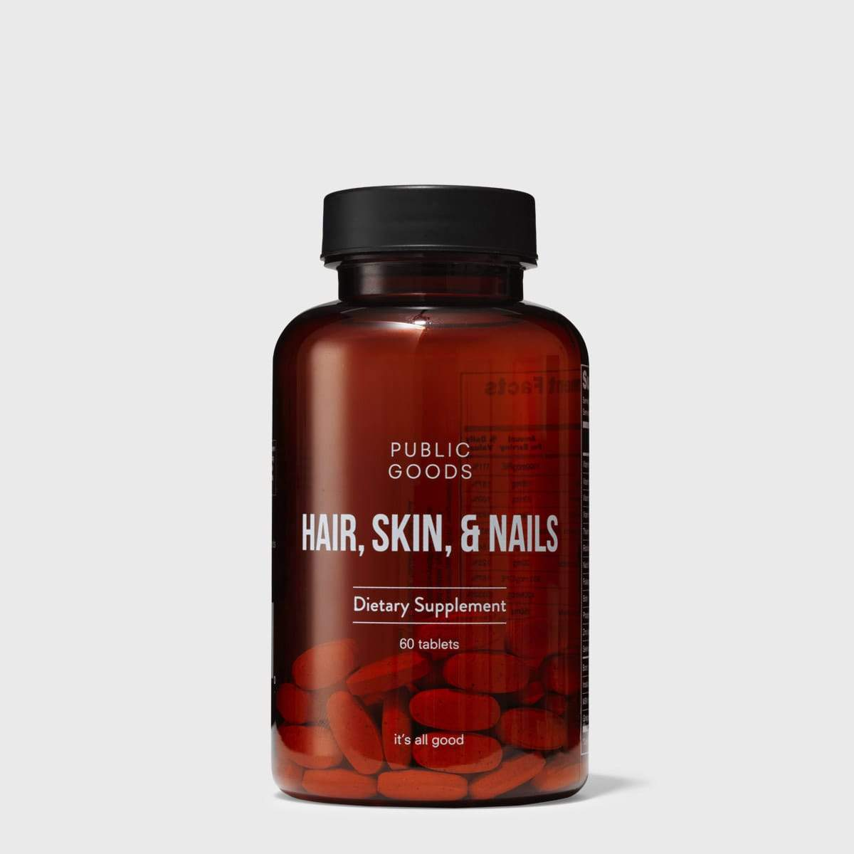 Public Goods Supplement Hair, Skin, & Nails