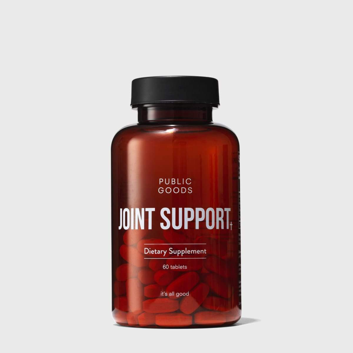 bottle of joint support supplement
