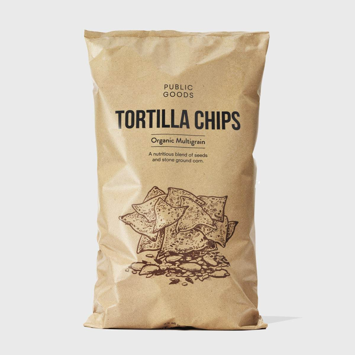 Public Goods Grocery Multigrain Tortilla Chips