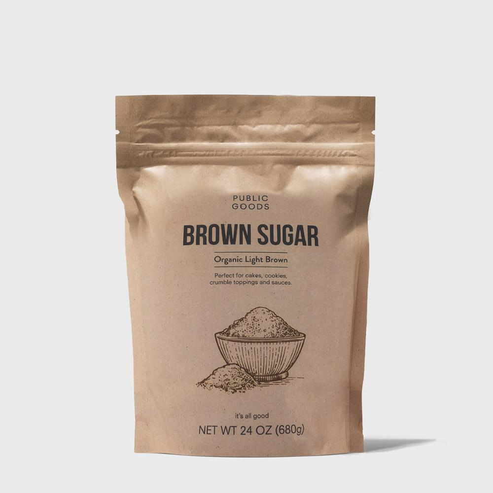 Public Goods Grocery Organic Brown Sugar