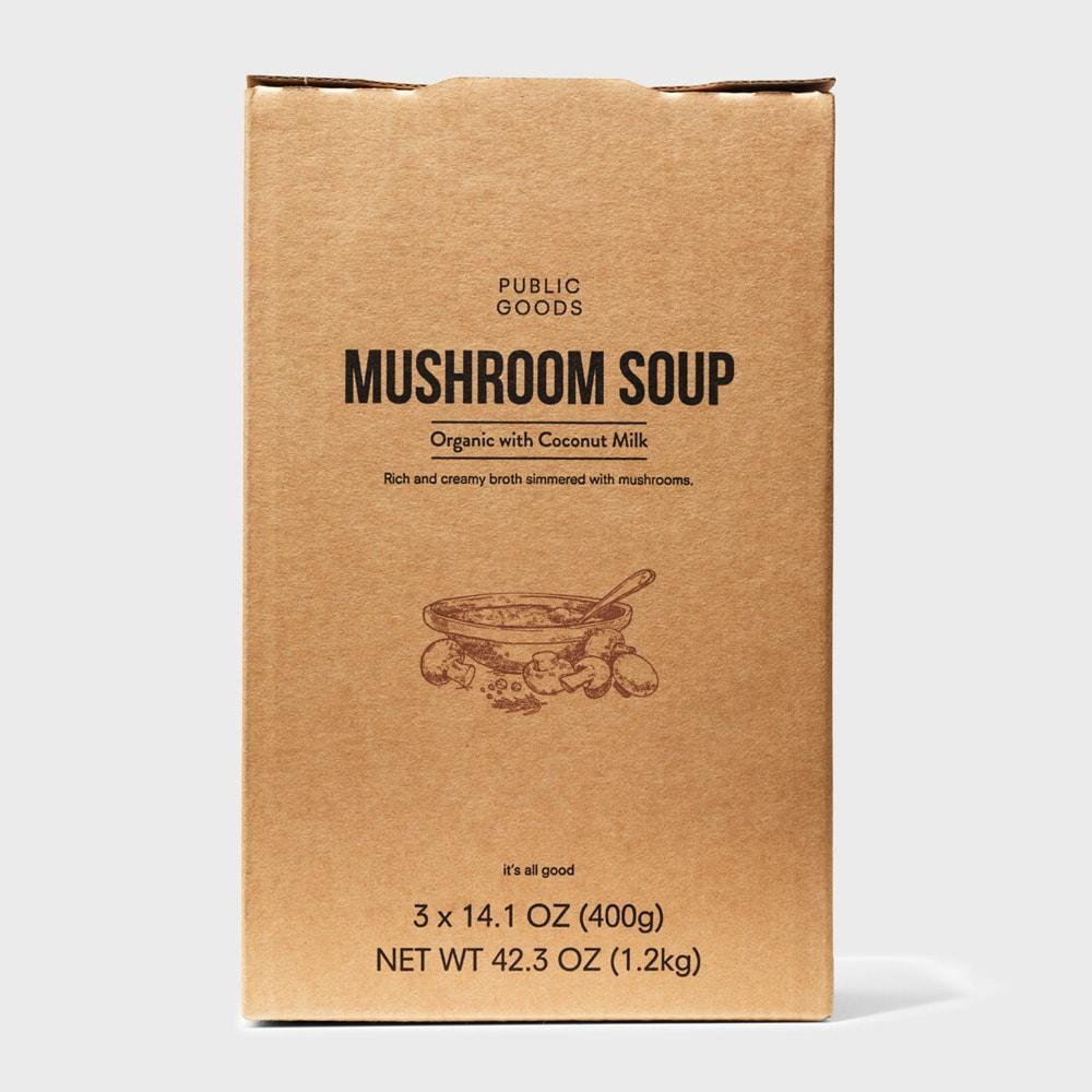 Public Goods Grocery Mushroom Soup