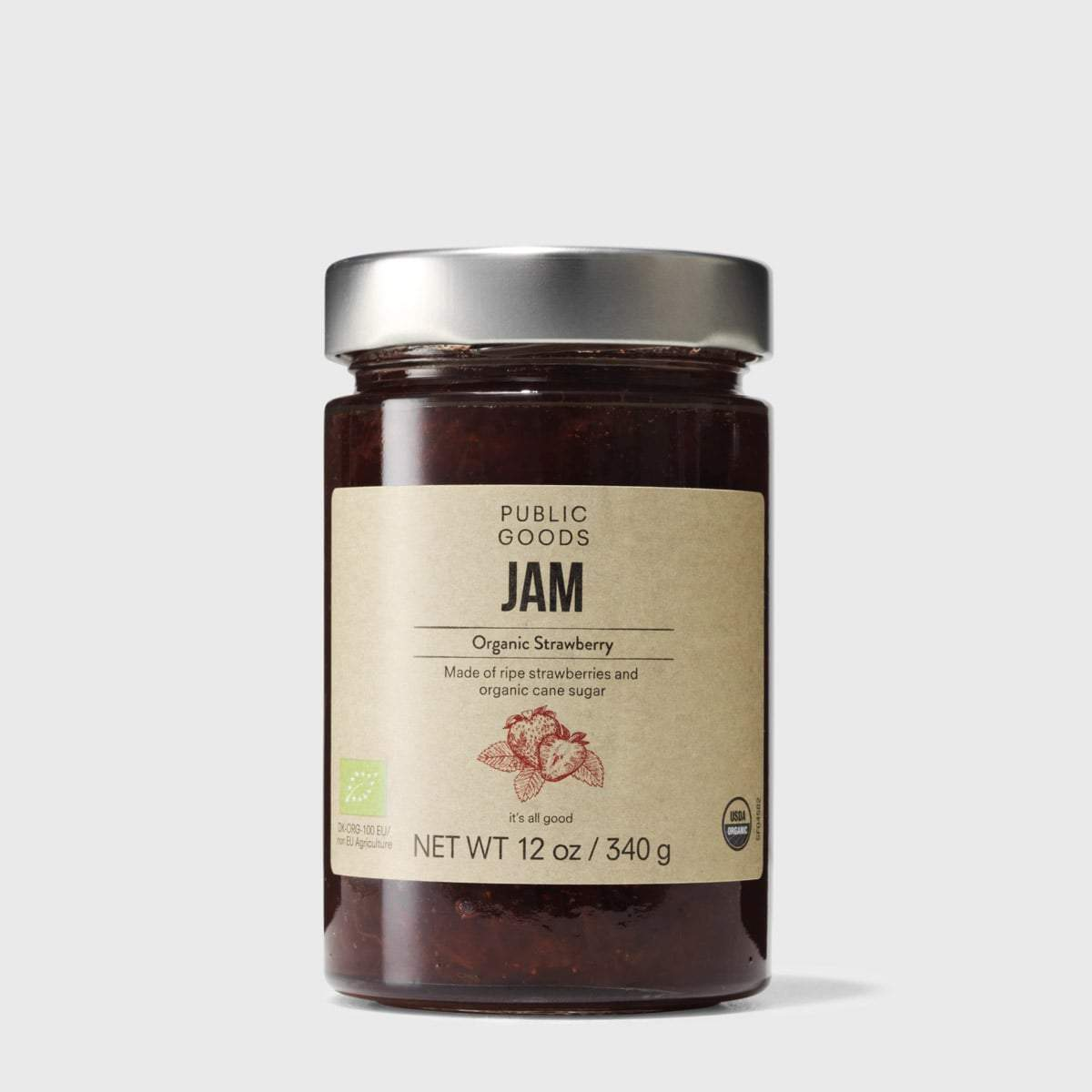 Public Goods Grocery Strawberry Jam
