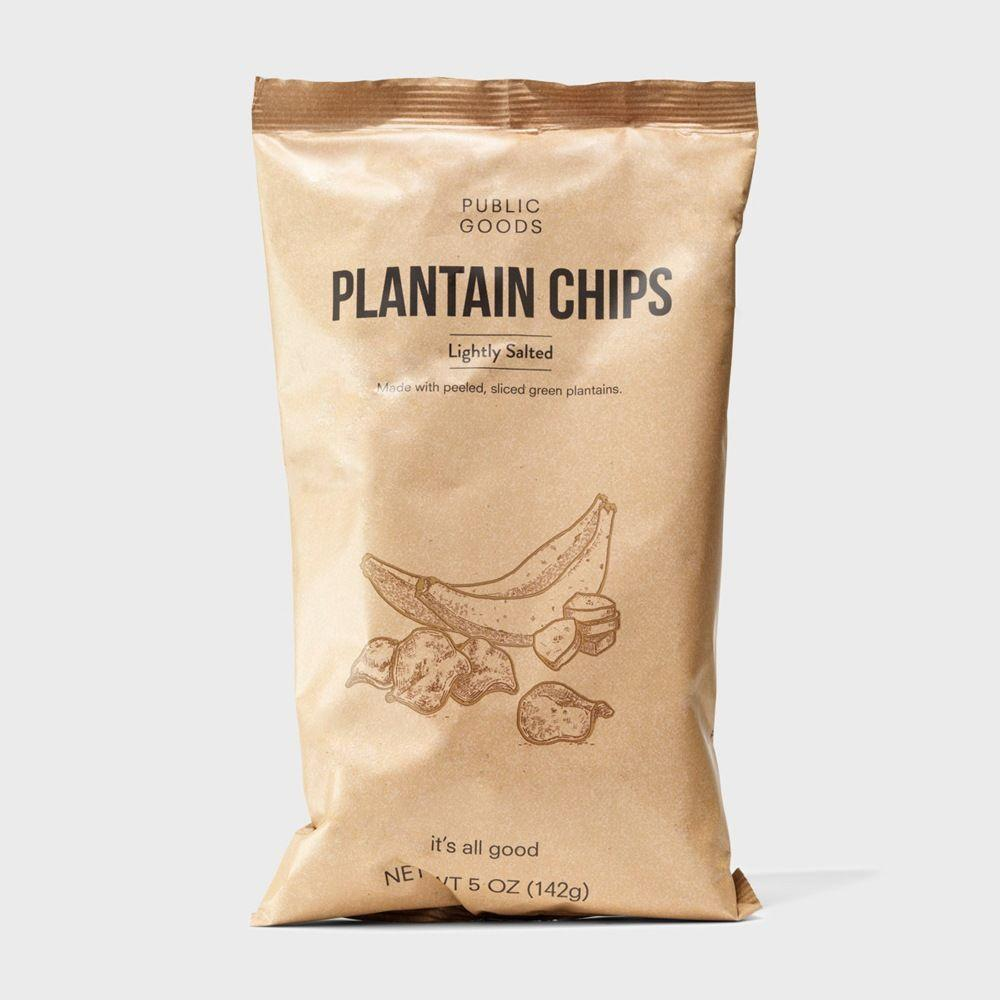 bag of lightly salted plantain chips