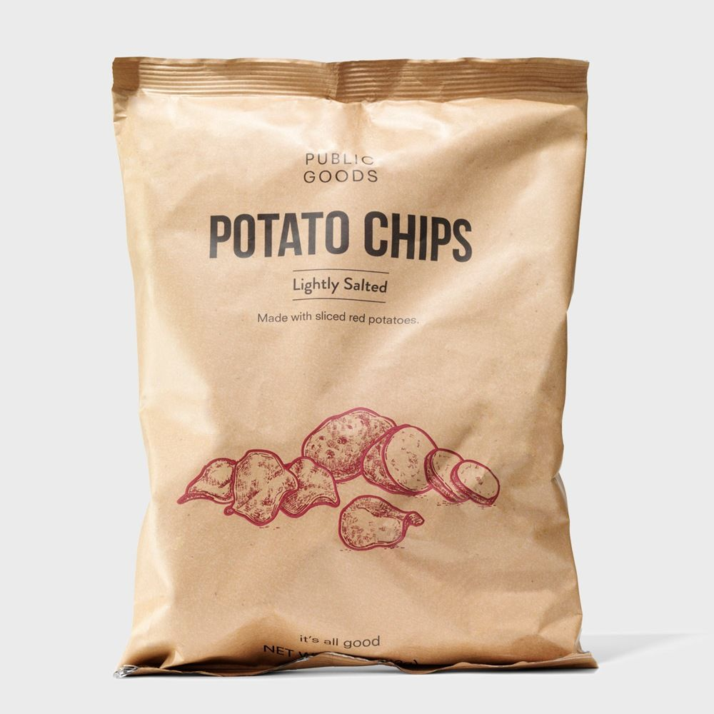 bag of public goods red potato chips