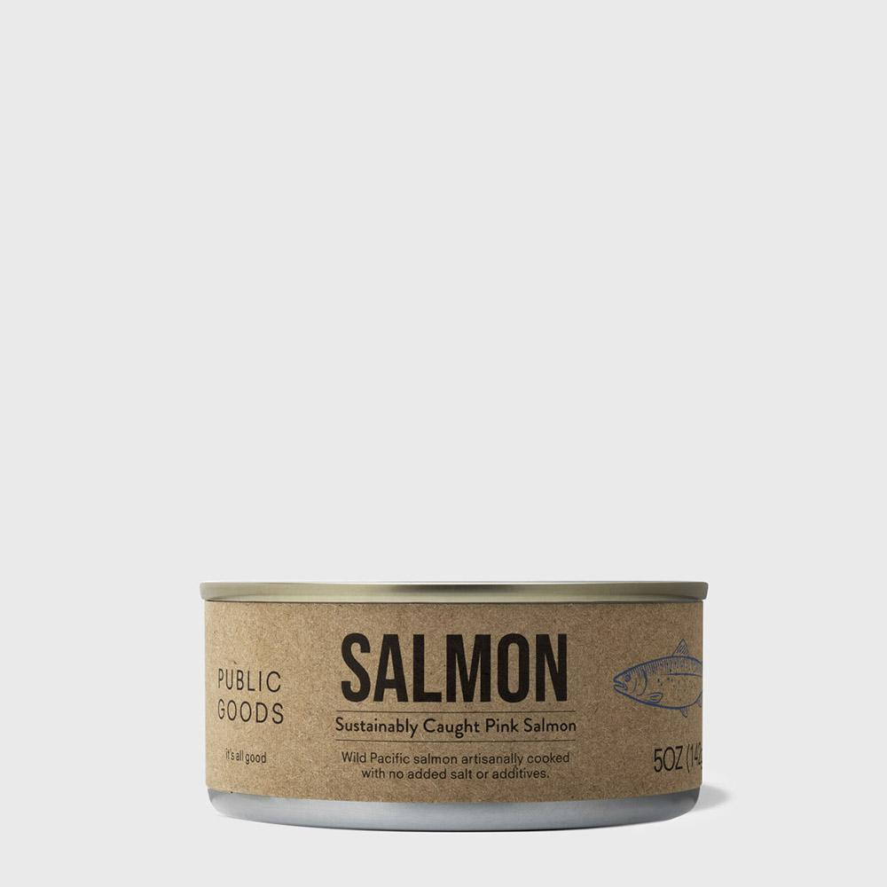 Public Goods Grocery Salmon