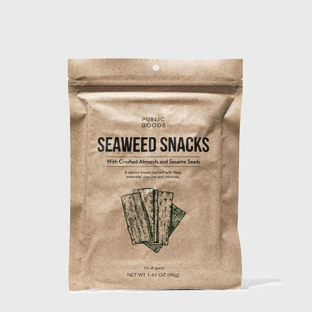 Public Goods Grocery Seaweed Snacks