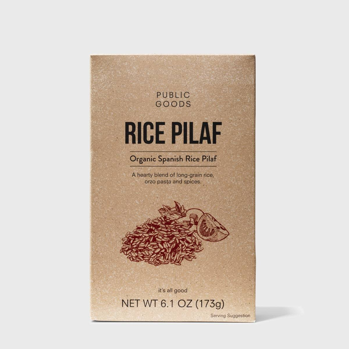 Public Goods Grocery Spanish Rice Pilaf