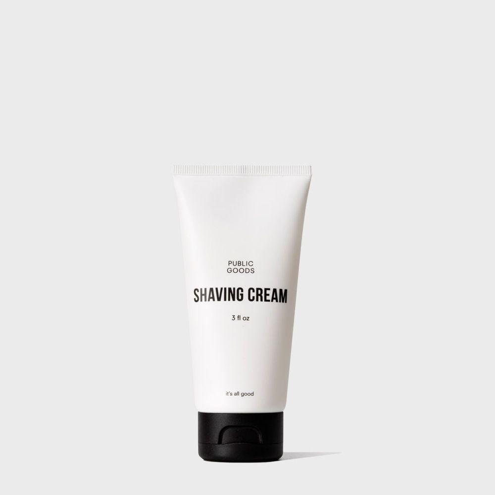 travel size shaving cream tube