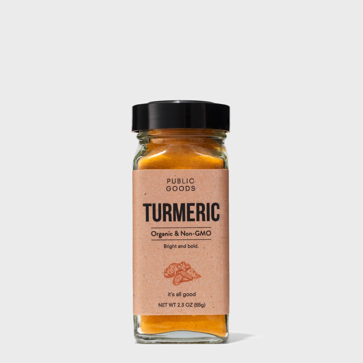 Turmeric Powder 2.3 oz (Case of 6)