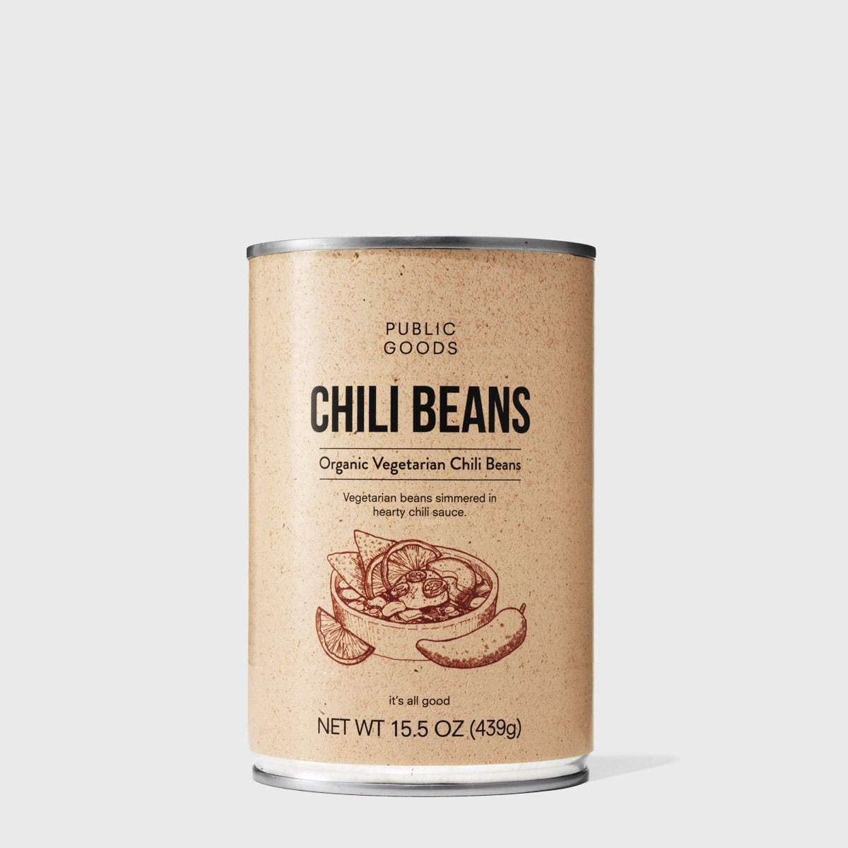 Public Goods Grocery Vegetarian Chili Beans
