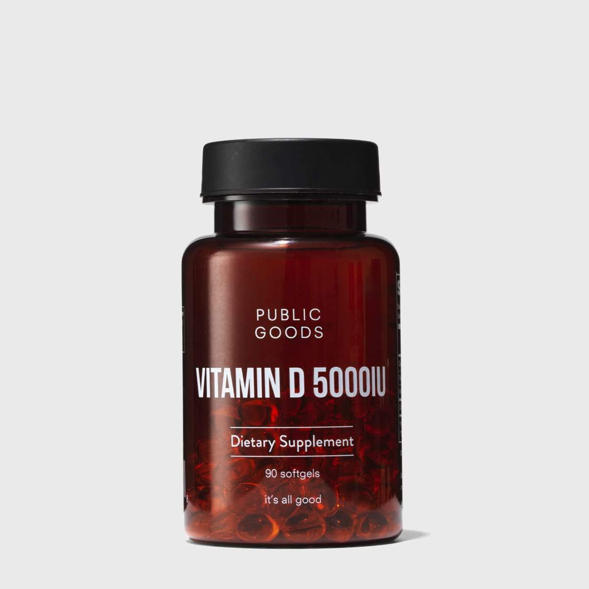 Public Goods Supplement Vitamin D3