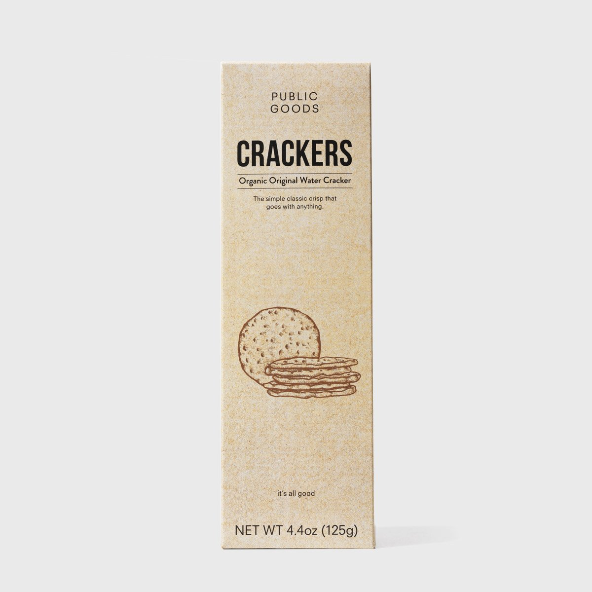 Water Crackers (Case of 12)