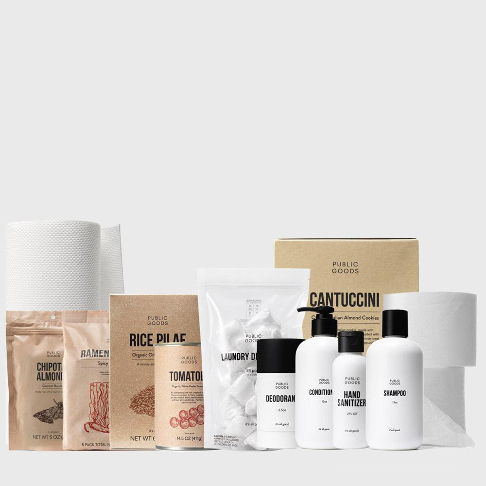 Public Goods Product Set Welcome Kit