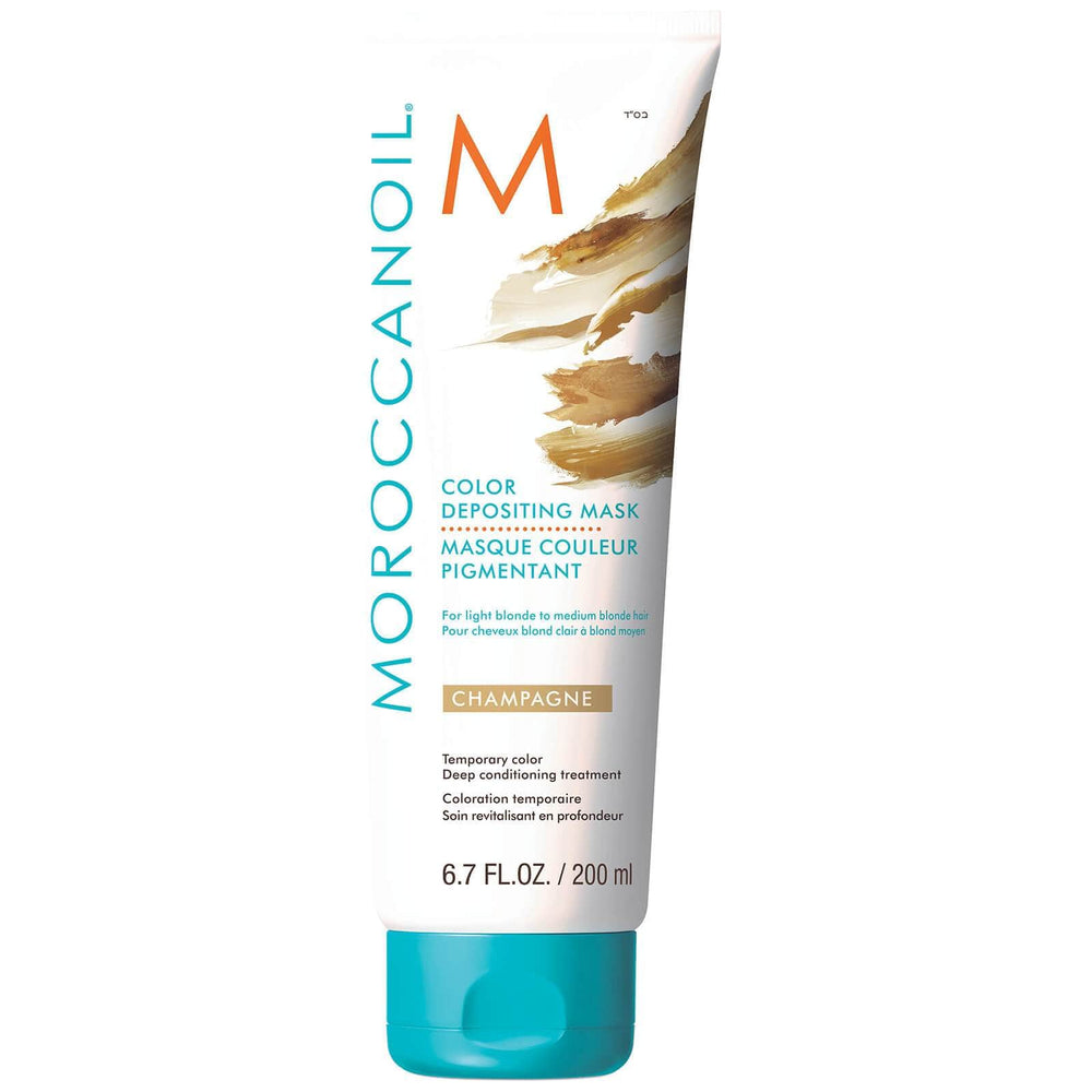 Moroccanoil Champagne Colour Depositing Hair Mask 200ml