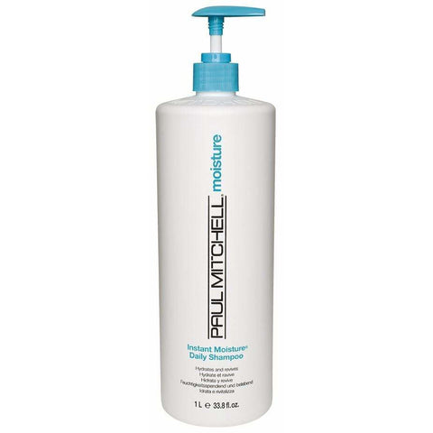 Paul Mitchell Instant Moisture Daily Shampoo Hydrates & Revives 1000ml