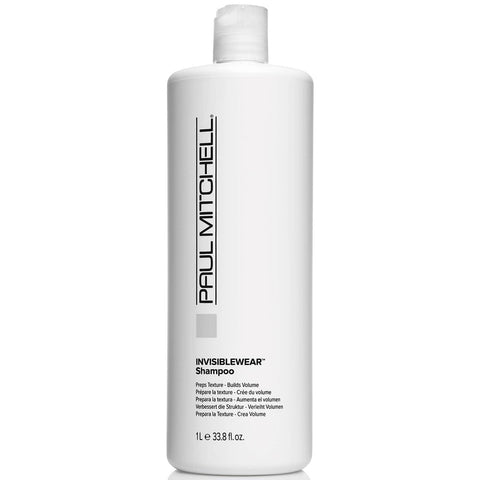 Paul Mitchell Invisible Wear Shampoo 1000ml Salon Size Shampoo
