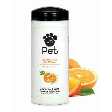 John Paul Pet Full Body & Paw Wipes (45 Sheets)