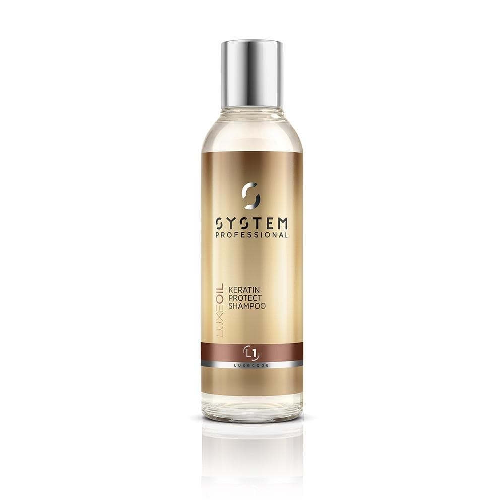 System Professional Luxe Oil Keratin Protect Shampoo L1 250ml - Bohairmia