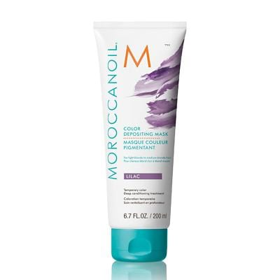 Moroccanoil Lilac Colour Depositing Hair Mask 200ml