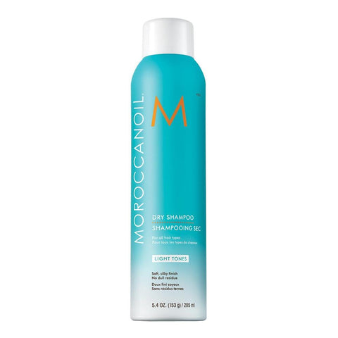 Moroccan Oil Dry Shampoo Light Tone 205ml