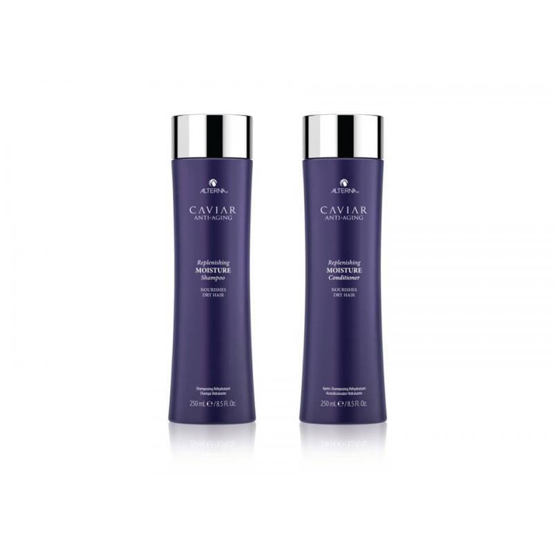 Alterna Caviar Replenishing Moisture Shampoo & Conditioner 250ml Duo