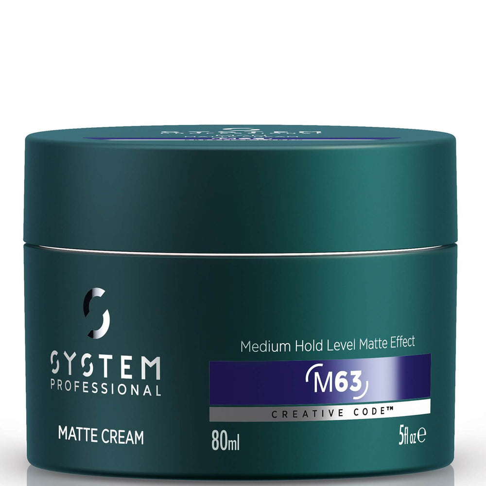 System Professional Man Matte Cream 80ml - Bohairmia