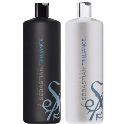 Sebastian Trilliance Shampoo & Conditioner Duo 1000ml (with free pumps)