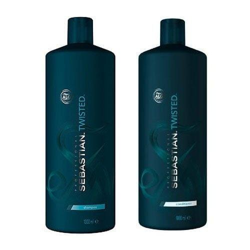 Sebastian Twisted Curl Shampoo & Twisted Curl Conditioner Duo 1000ml (free pumps included) - Bohairmia