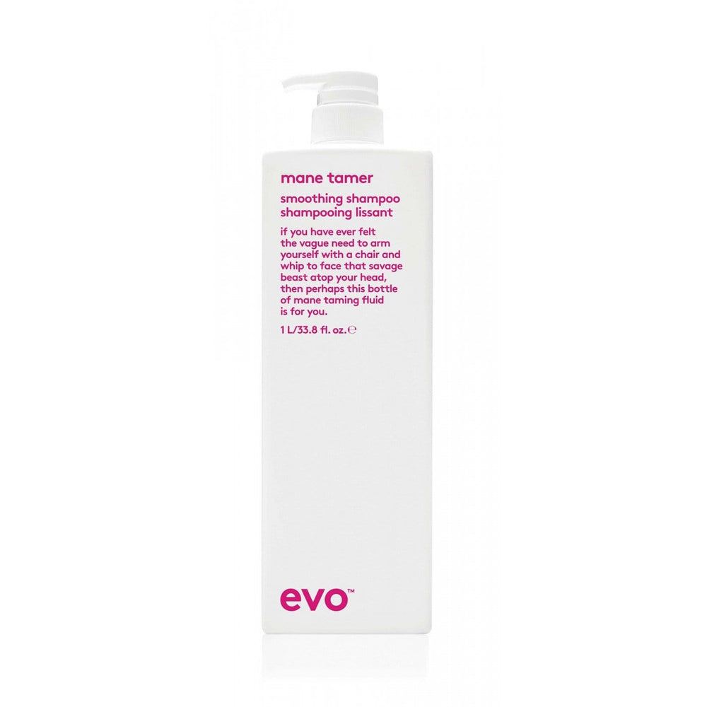 Evo Mane Tamer Smoothing Shampoo 1000ml