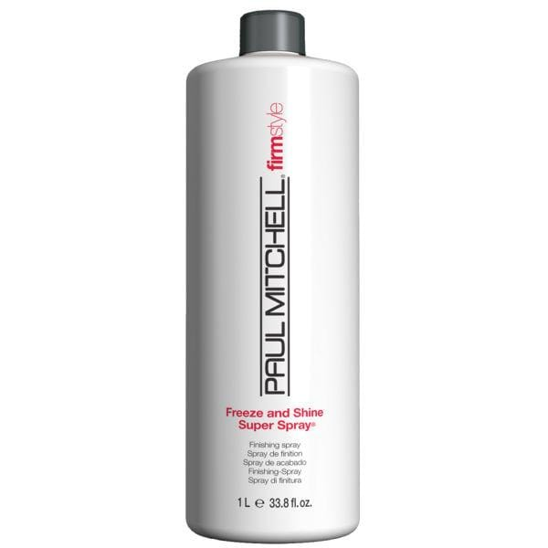 Paul Mitchell Freeze and Shine Super Spray 1000ml with 'FREE' 250ml Spray 'LIMITED OFFER' - Bohairmia