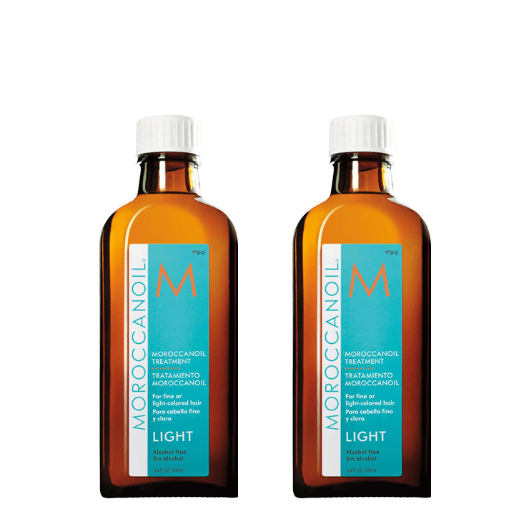 Moroccanoil Original Light Oil Duo Pack