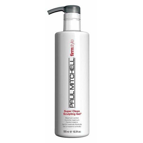 Super Clean Sculpting Gel by Paul Mitchell 500ml size