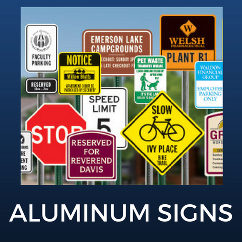 Reflective Aluminum Signs