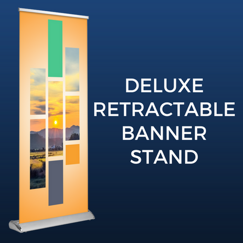 Deluxe Retractable Banner Stand Package
