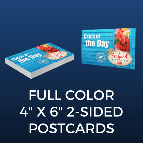 "Full Color 4"" x 6"" Two-Sided Postcards"