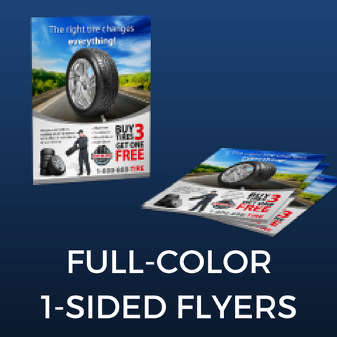 Full Color One-Sided Flyer