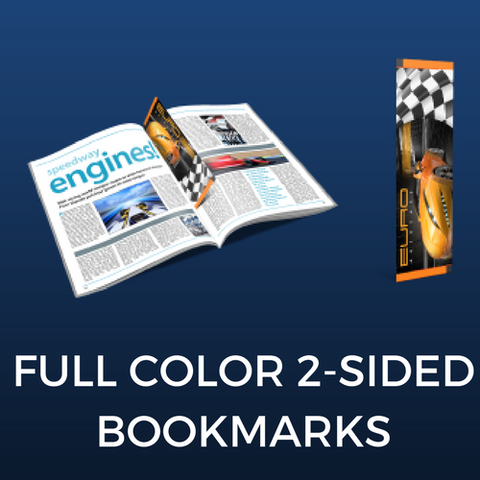 Full Color Two-Sided Bookmarks